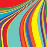 Colored stripes — Stock Photo