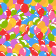 Balloons background - Stock Photo