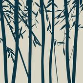 木のシルエット — ストック写真