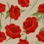 Seamless roses — Stock Photo