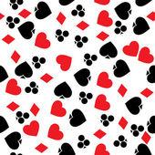 азартные игры шаблон — Стоковое фото