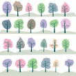 Seamless tree — Stock Photo #3607914