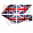 British flag — Stock Photo