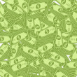 Dollar pattern - Stock Photo