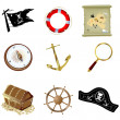 Nautical icons — Stock Photo #3860174