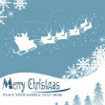 Christmas card illustration — Stock Photo #3860185