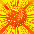 Disco ball background - Foto de Stock