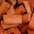 Brick building clay — Stock Photo