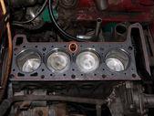 Repair car engine — Stock Photo