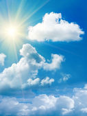 Sun cloud sky — Stock Photo