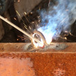 Stock Photo: Process welding metal