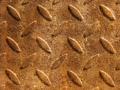 Relief surface rusty metal — Stock Photo