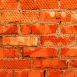 Stock Photo: Wall brick red clay