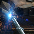 Welding metal — Stock Photo #3171647