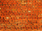 Wall brick clay — Stock Photo