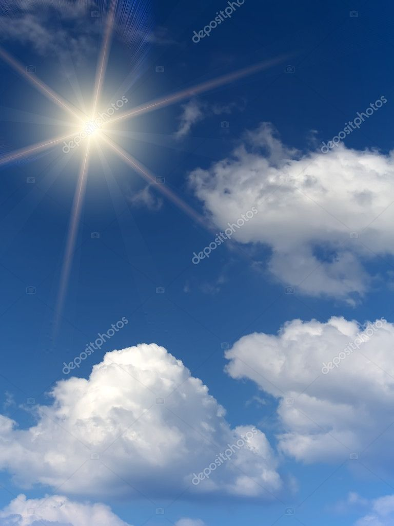 Sunrise  sun  sky  clouds — Stock Photo #3209997