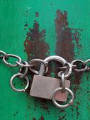 Låsa verktyget stängt skyddande — Stockfoto