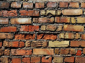 Wall house brick clay — ストック写真
