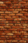 Wall brick clay — Stock Photo