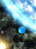空の星地球 — ストック写真