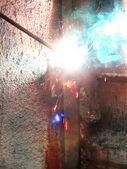Spawanie elektryczne metalowe — Zdjęcie stockowe