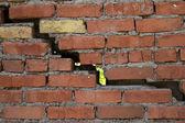 Argile de brique de mur — Photo