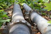 Potrubí ropy modulární — Stock fotografie