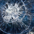 Cracks glass broken — Stock Photo #3473880