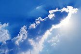 Sun sky clouds sunlight — Stock Photo