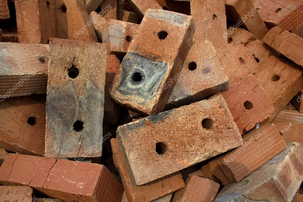 Brick  red  clay  ceramic — Stock Photo #3661041