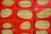 Edificio material vidrio fibroso — Foto de Stock