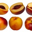 Fruit  hybrid  peach  apricot  collection — Stock Photo