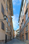 Stockholm. Narrow street — Stock Photo