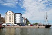 Helsinki, North Quay — Stock Photo