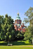 Helsinki. Uspensky Cathedral — Stock Photo