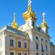 Peterhof Palace. The Church — Stock Photo