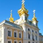 Peterhof Palace. The Church — Stock Photo