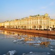 St. Petersburg. Palace Embankment - Stock Photo