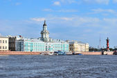 St. Petersburg. University Embankment — Stock Photo