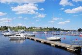 Villmanstrand hamn. finland — Stockfoto