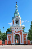 Hamina, Finland. Beautiful Belfry — Stock Photo