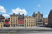 Stockholm, Old Town. Munkbron — Stock Photo