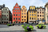 Stockholm. Heart of the Old Town — Stock Photo
