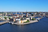Stockholm, island Riddarholmen — Stock Photo