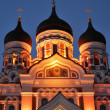 Tallinn. Alexander Nevsky Cathedral — Stock Photo