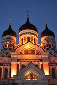 Tallinn. Alexander Nevsky Cathedral — Stock Photo