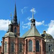 Stockholm, church Riddarholmskyrkan - Stock Photo