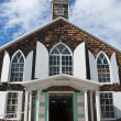 Church in Saint Maarten Island - 图库照片