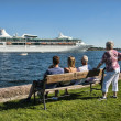Cruise Ship in port of Oslo, Norway — ストック写真 #2868798
