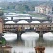 Panoramic View of Florence - Stok fotoğraf